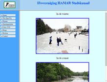 Tablet Preview of ijsvereniging-hamar-stadskanaal.nl